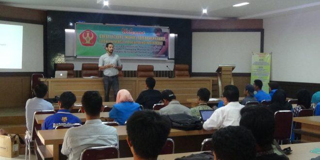 Mahasiswa Kelas Internasional Program Studi Agroteknologi Ramaikan Kuliah Tamu